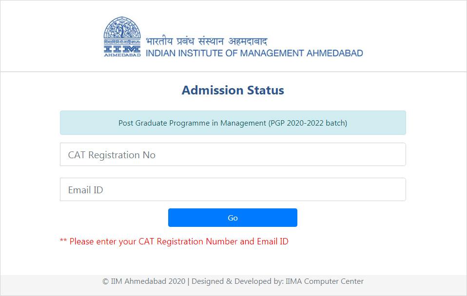 iim ahmedabad admission