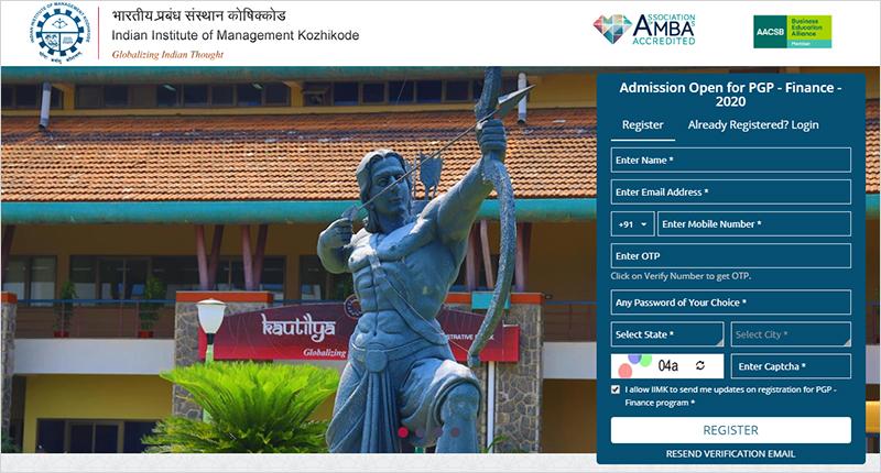 iim pgp finance admission