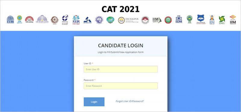 CAT 2018 Login