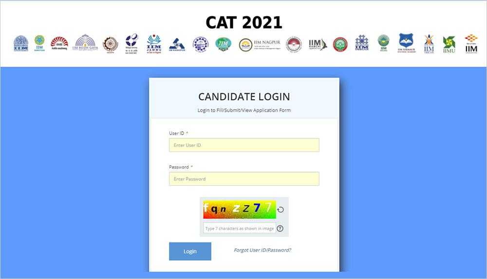 CAT 2020 Application Edit