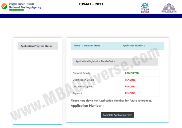 JIPMAT REGISTRATION