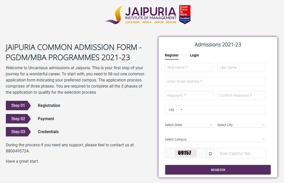 Jaipuria Noida Admission