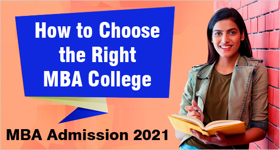 how to choose mba college