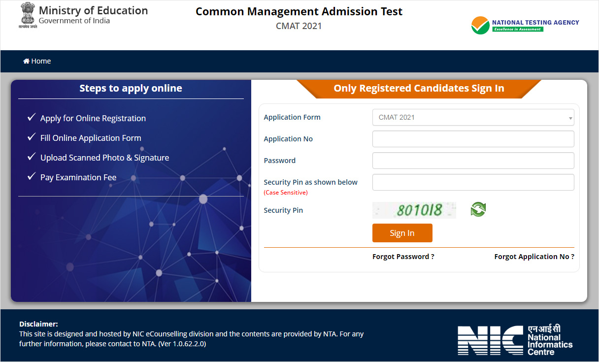 cmat registration